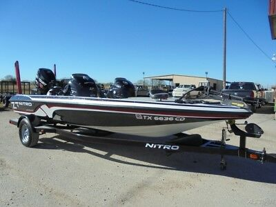 2013 Tracker Marine Nitro Z7 19 Foot Fishing Boat w/ Mercury Pro XS 150 Outboard