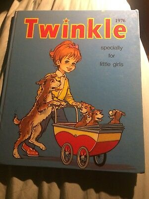 Vintage, Twinkle Annual,Specially for Little Girls 1976, VGC For 42 Years Old!