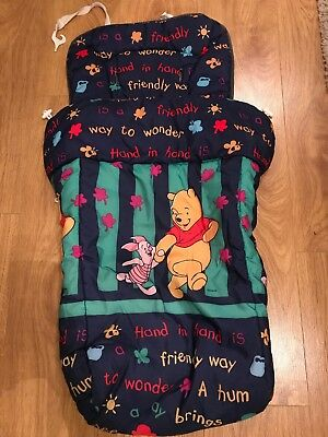 Winnie The Pooh Stroller FootMuff / Cosy Toes