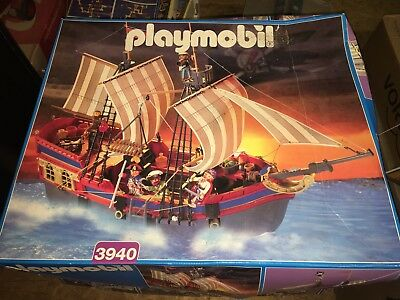 Playmobil Piratenschiff und Piratenfestung