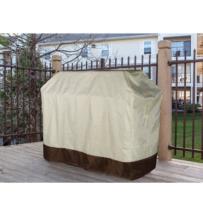 OUTAD Durable Waterproof 420D Woven Polyester PU Coating BBQ Cover Grill Cover