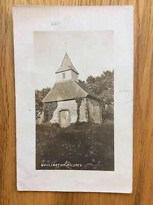Vintage Postcard, Lullington, Old Church, Sussex, 1912, Real Photo