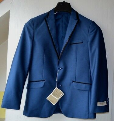 Boy's Romano Luxury Collection Dark Blue Three Piece Suit 14 / 15 Years - New !