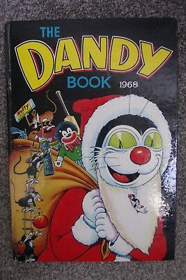 1968 Christmas Dandy Comic Book Annual - Excellent Condition