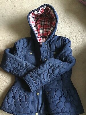 Blue zoo Girls jacket Age 11-12 navy blue good used condition