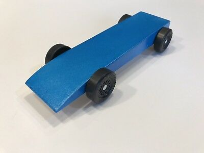 Fast Pinewood Derby Car Ready To Race 40 00 Picclick