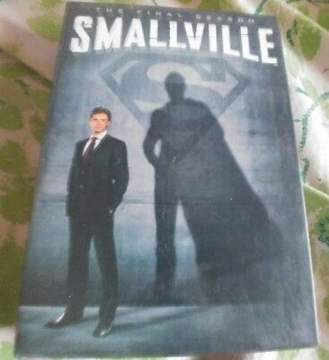 Smallville: Season 10 (DVD, 2011, 6-Disc Set)