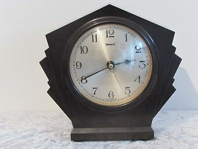 Art Deco Bakelite Ferranti Electric mantle clock c.1920-30