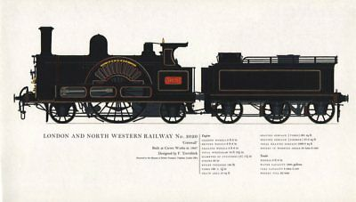 London & North Western Railway locomotive #3020 Cornwall 1847 Trevithick 1967