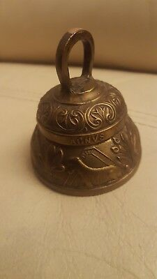 Vintage Brass Bell Animals & Birds
