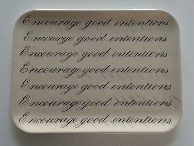 John Derian for Target melamine tray, Encourage Good Intentions, Christmas gift