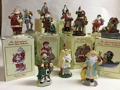 International Santa Claus Collection-13 Figurines