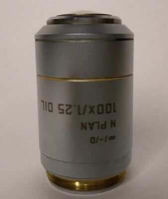 Leica Microscope Objective N Plan 100x/1.25 oil  Infinity