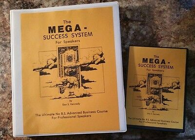 Dan Kennedy MEGA SUCCESS SPEAKING BUSINESS (was $497)includes PRIORITY Shipping