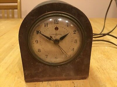 Antique Art Deco General Electric Mantle Clock
