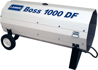 LB White Boss 1000 DF Direct-Fired Portable Heater