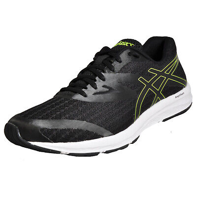 super popular 17106 2aeec ASICS AMPLICA MENS Running Shoes Fitness Gym Workout Trainers Black