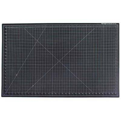 "New Dahle 24"" x 36"" Vantage Black Self-Healing Cutting Mat - 10673"