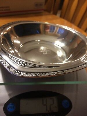 Vintage Wallace sterling silver bowl 3500