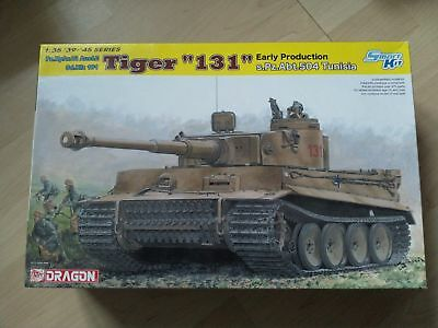 Dragon 1/35 Tiger 131 early production tunesia