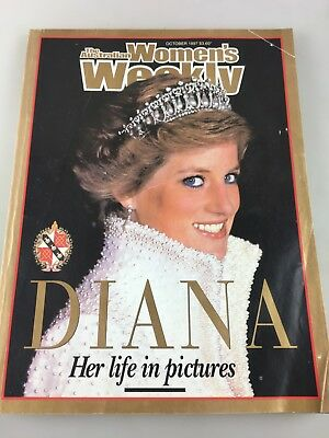 Women's Weekly Magazine - Princess Diana - Her Life In Pictures -  October 1997
