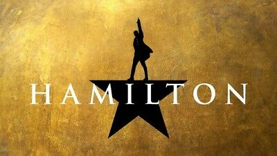 Hamilton NYC 2 Orchestra Tickets January 2, 2019 2pm (Great for NYE trip!)