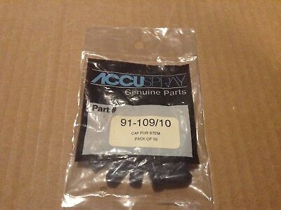 accuspray genuine part 91-109/10 cap for stem (10 pack)
