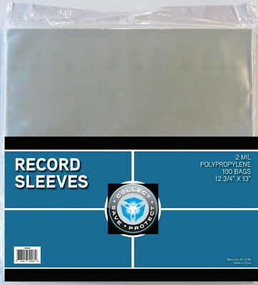(15) Csp 33Rpm Lp Record Musuc Album Poly Sleeve Outer Cover Storage Holders