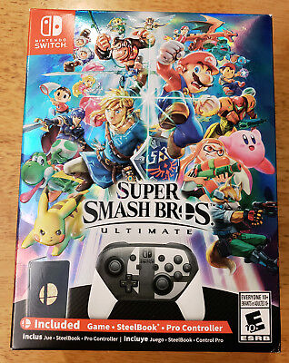 Super Smash Bros. Ultimate Collector's Edition-Nintendo Switch Special Steelbook