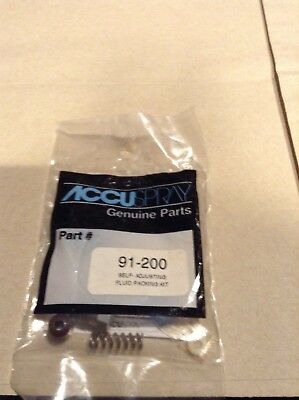 accuspray genuine Part 91-200 Self adjusting fluid packing