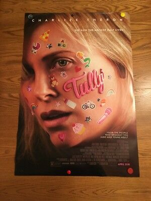 Tully 27x40 Original D/S Movie POSTER Charlize Theron