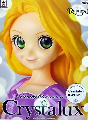 Disney Characters Crystalux Rapunzel / 100% Authentic!