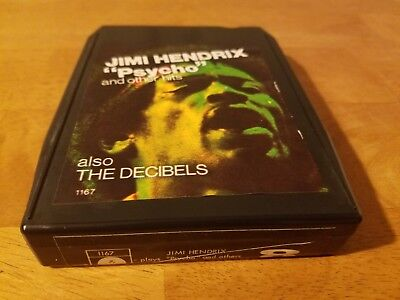 "Jimi Hendrix- ""Psycho""- 8 Track Tape- Tested"