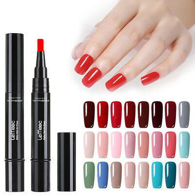88 Couleur UV Gel Vernis à Ongles Stylo Paillettes Vernis Gel Base Top Coat LED