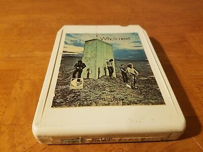 The Who- Who's Next- 8 Track Tape- Tested