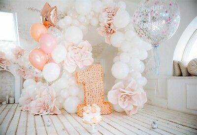 Baby 1st Birthday Backdrops Party Banner Photography Background