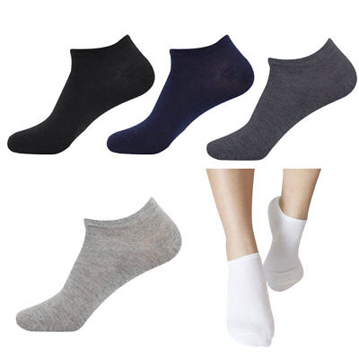 5pairs Men/'s Natural Deodorant Ankle Socks Sports Casual Cotton Sock Type Mixed