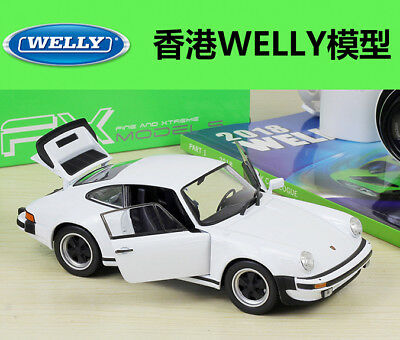 WELLY Collection 1/24 Diecast Car Model 1974 Porsche 911 Turbo3.0 Xmas Gift