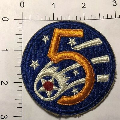 US Army WW2 5th Air Corps Patch