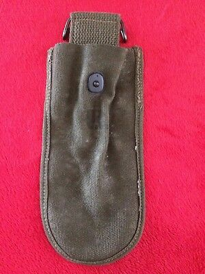 Original WW2 U.S. Army Wire Cutters Canvas Pouch, 1945 dated Excellent Condition
