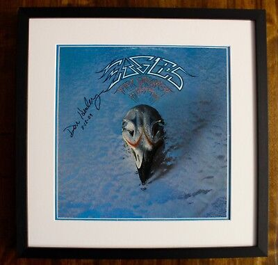Don Henley EAGLES Signed Greatest HITS LP (RARE)