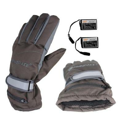 Heating Electric Rechargeable Warm Gloves Waterproof Windproof Heated Gloves