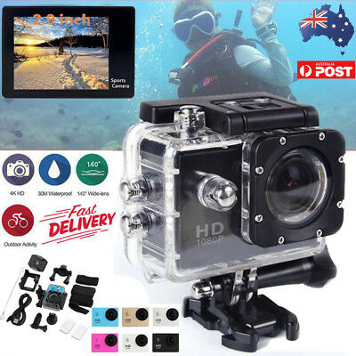 HDMI HD 1080P DV Action Sports Video Camera Camcorder Gopro Ultra Waterproof DVR