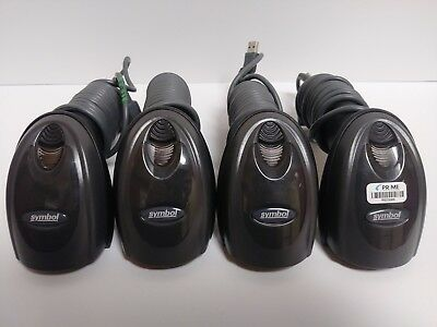 Lot of 4 Symbol DS6707-SR20007ZZR Barcode Scanner