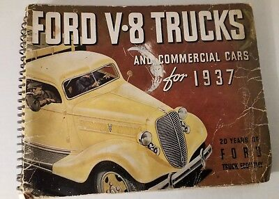 Ford V8 Trucks And Commercial Cars For 1937