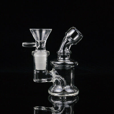 Free Shipping Small glass pipes mini water bongs Joint 14mm