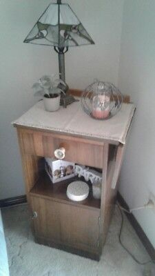 Vintage Antique Telephone/ Side/ Display Table -Good Cond. - Pick Up Only
