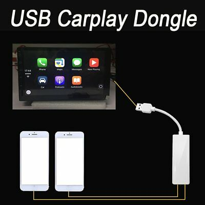 USB Dongle Adapter For Apple iPhone Carplay Android Car Navigation MP5 Player PO