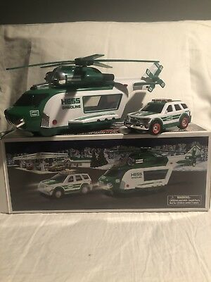 2012 Hess Toy Helicopter And Rescue