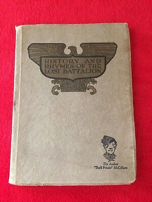 History and Rhymes of the Lost Battalion - 1922 edition - WW1